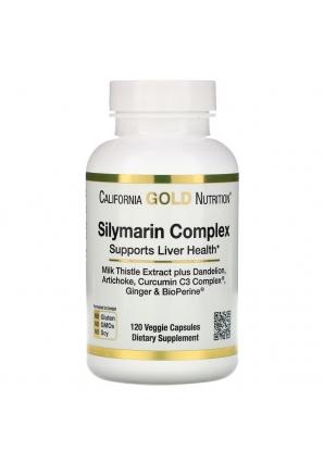 Silymarin Complex 120 капс (California Gold Nutrition)