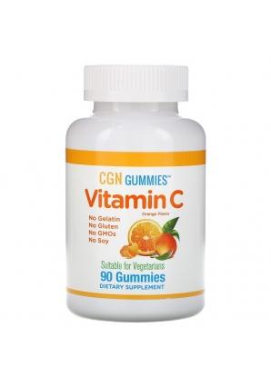 Vitamin C Gummies 90 жев.табл. (California Gold Nutrition)