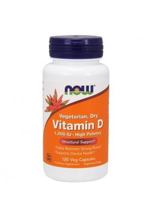 Vitamin D 1000 МЕ 120 капс (NOW)