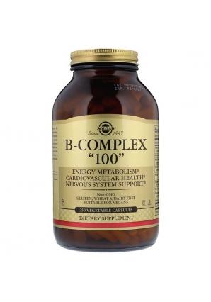 "B-Complex ""100"" 250 капс (Solgar)"