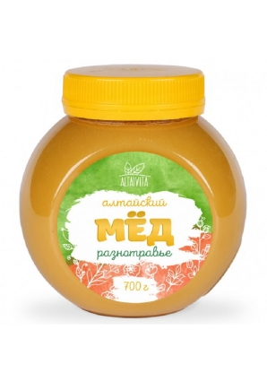 Мёд алтайский разнотравье 700 гр (Altaivita)