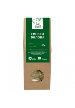 Гинкго Билоба (листья) 25 гр (Altaivita)