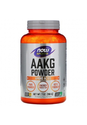 AAKG Pure Powder 198 гр (NOW)