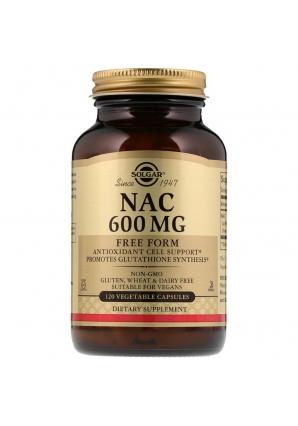 NAC 600 мг 120 капс (Solgar)