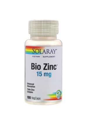 Bio Zinc 15 мг 100 капс (Solaray)
