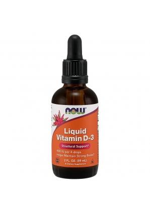 Liquid Vitamin D-3 59 мл (NOW)