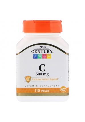 Vitamin C 500 мг 110 табл (21st Century)