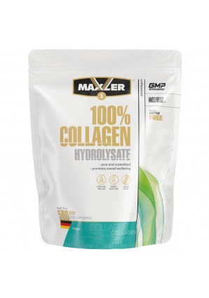 100% Collagen Hydrolysate 500 гр (Maxler)