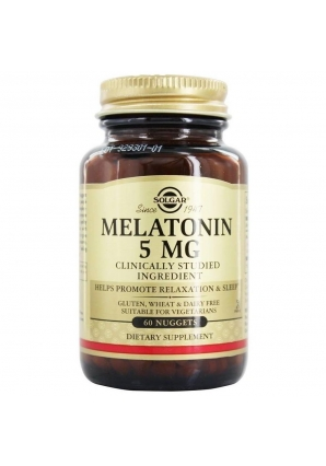 Melatonin 5 мг 60 жев.табл. (Solgar)