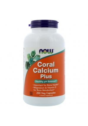 Coral Calcium Plus 250 капс (NOW)