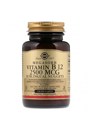 Sublingual Vitamin B12 2500 мкг 120 табл (Solgar)