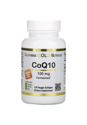 CoQ10 100 мг 120 капс (California Gold Nutrition)