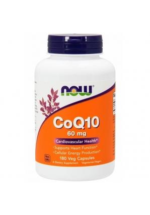 CoQ10 60 мг 180 капс (NOW)