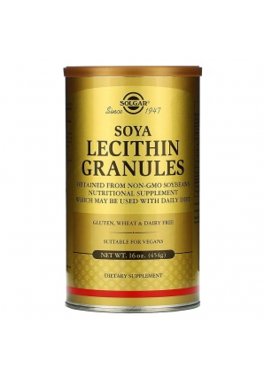 Soya Lecithin Granules 454 гр (Solgar)