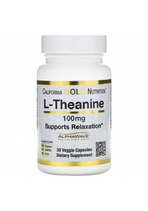 L-Theanine 100 мг 30 капс (California Gold Nutrition)
