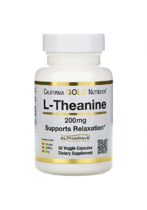L-Theanine 200 мг 60 капс (California Gold Nutrition)