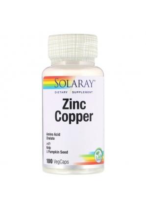 Zinc Copper 100 капс (Solaray)