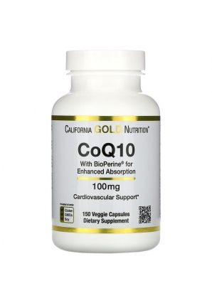 CoQ10 with Bioperine 100 мг 150 капс (California Gold Nutrition)