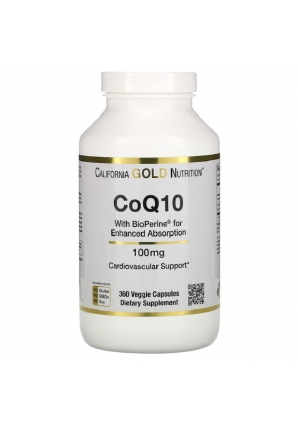 CoQ10 with BioPerine 100 мг 360 капс (California Gold Nutrition)