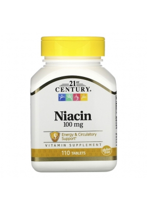 Niacin 100 мг 110 табл (21st Century)