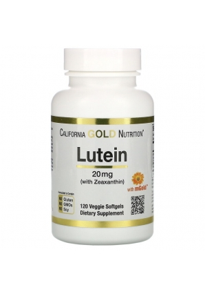 Lutein with Zeaxanthin 20 мг 120 капс (California Gold Nutrition)
