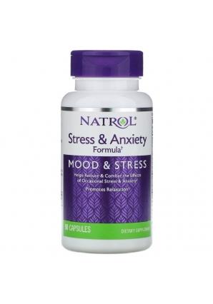 Stress & Anxiety Formula 90 капс (Natrol)