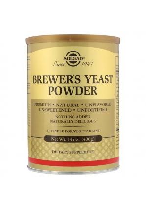 Brewer's Yeast Powder 400 гр (Solgar)