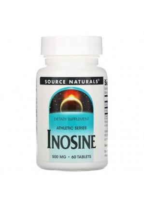 Inosine 500 мг 60 табл (Source naturals)