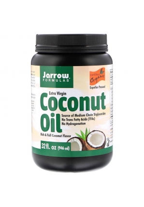 Extra Virgin Coconut Oil 946 мл (Jarrow Formulas)