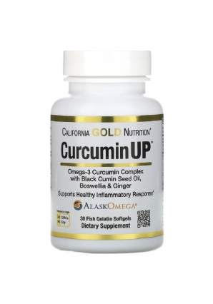 CurcuminUP 30 капс (California Gold Nutrition)