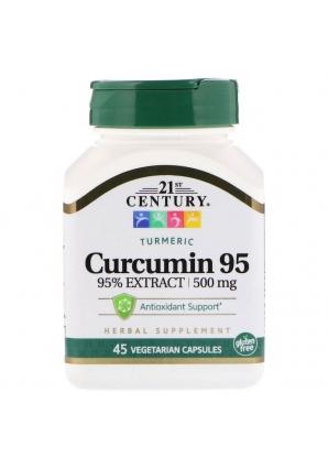 Curcumin 95 - 500 мг 45 капс (21st Century)