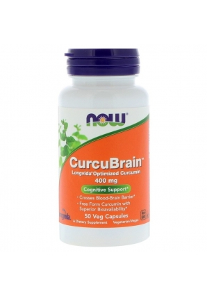 CurcuBrain 400 мг 50 капс (NOW)