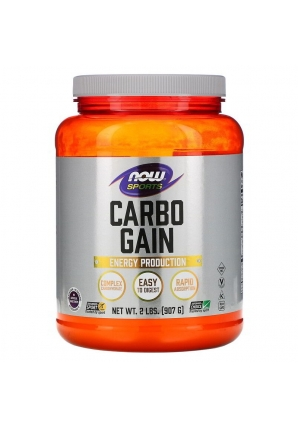 Carbo Gain 907 гр (NOW)