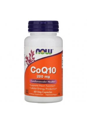 CoQ10 200 мг 60 капс (NOW)