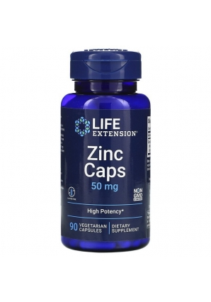 Zinc Caps 50 мг 90 капс (Life Extension)