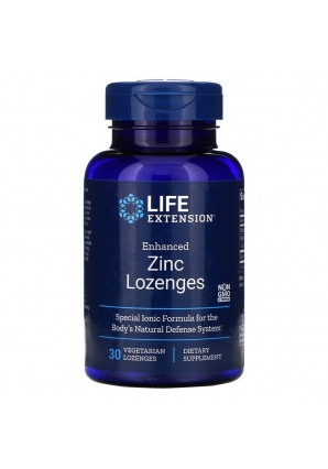 Enhanced Zinc Lozenges 30 леденцов (Life Extension)