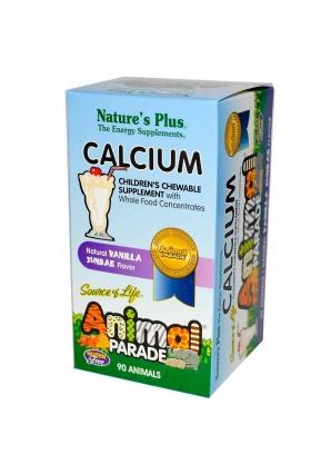 Animal Parade Calcium Children's Chewable Supplement 90 жев.табл (Natures Plus)