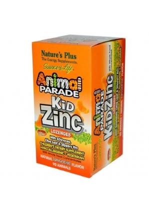Animal Parade Kid Zinc 90 жев.табл (Natures Plus)