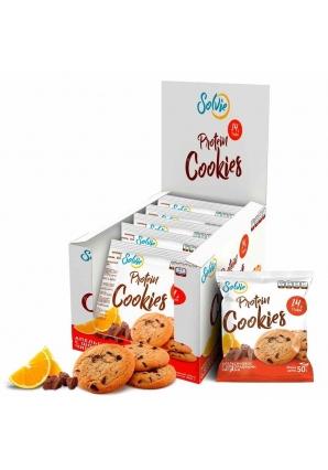 Протеиновое печенье Protein Cookies 50 гр 10 шт (Solvie)