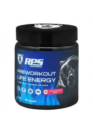 Pre-Workout Life Energy 200 гр (RPS Nutrition)