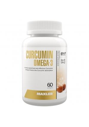 Curcumin Omega-3 60 капс (Maxler)