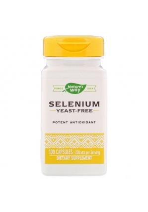 Selenium 200 мкг 100 капс (Nature's Way)