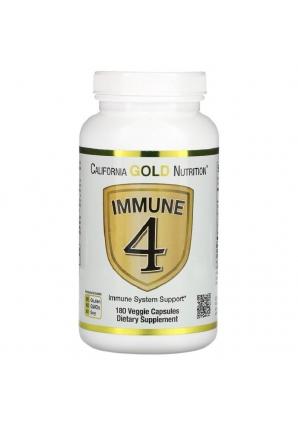 Immune4 180 капс (California Gold Nutrition)