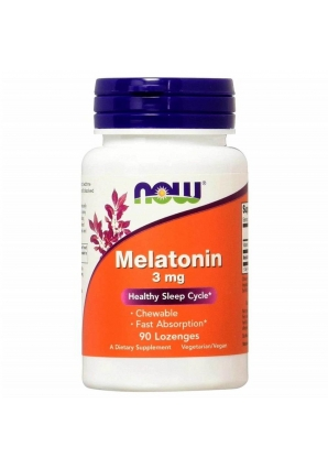Melatonin 3 мг 90 жев.табл. (NOW)