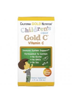 Children's Liquid Gold C Vitamin C 118 мл (California Gold Nutrition)