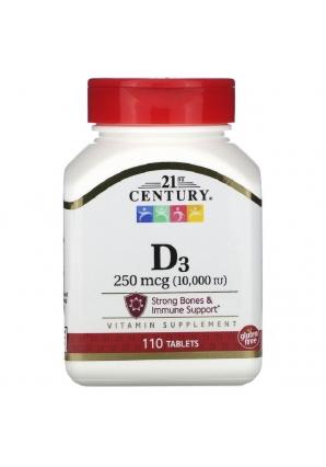 D3 10000 МЕ 110 табл (21st Century)