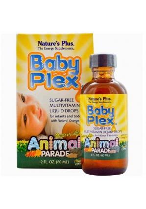 Animal Parade Baby Plex 60 мл (Nature's Plus)
