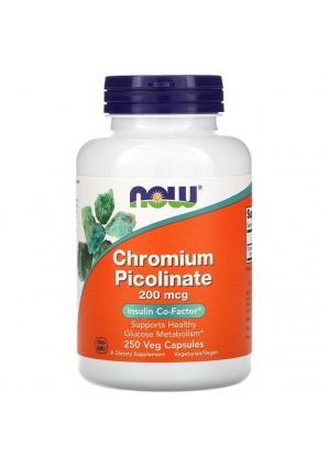 Chromium Picolinate 200 мкг 250 капс (NOW)