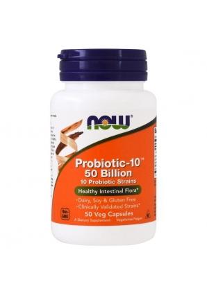 Probiotic-10 50 Billion 50 капс (NOW)