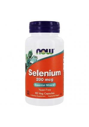 Selenium 200 мкг 90 капс (NOW)